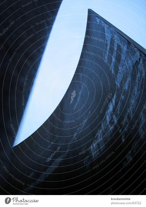 emporsteigen Wand Spitze Kurve Skulptur Bundesland Steiermark steil Aufgabe Steigung umhüllen St. Gallen