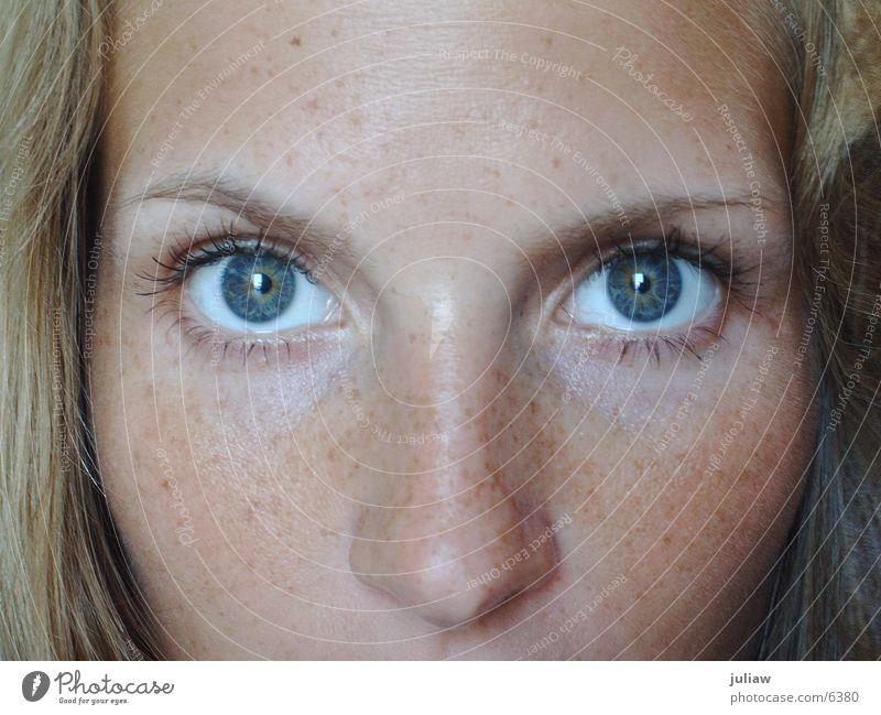 me again #1 ruhig Frau Auge Blick nachdenken.... Momentaufnahme