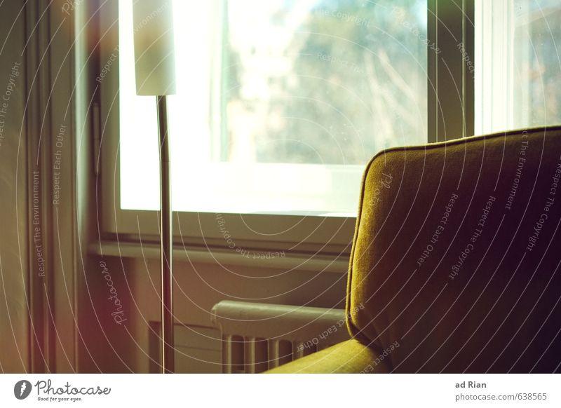 Morgen wird wie heute sein Erholung Fenster Innenarchitektur Stil Lampe Stimmung Wohnung Raum elegant Idylle Häusliches Leben Lifestyle Design ästhetisch Möbel