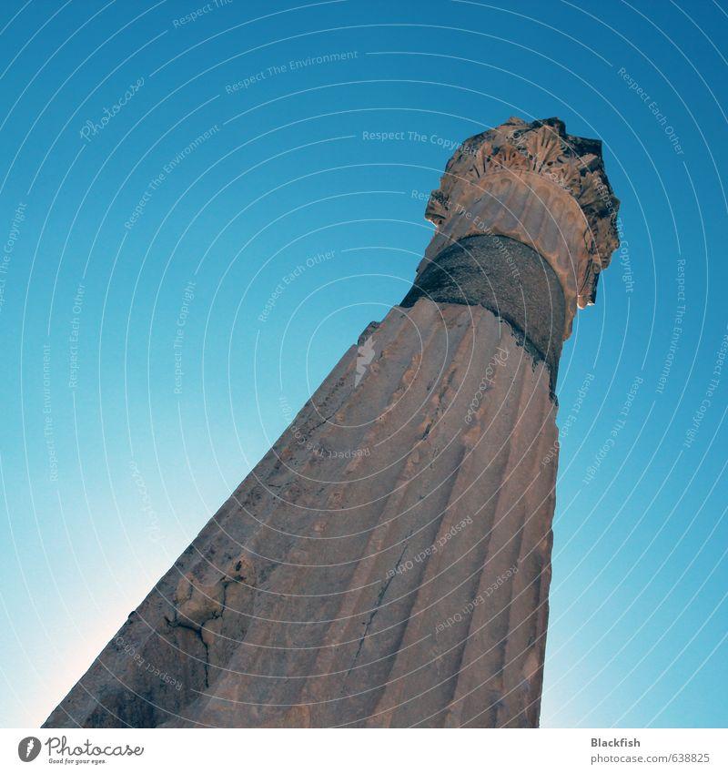 Phallus Maximus maskulin Mann Erwachsene Skulptur Architektur Rom Türkei Griechenland Menschenleer Säule Sehenswürdigkeit Denkmal Begierde Lust Sex Farbfoto