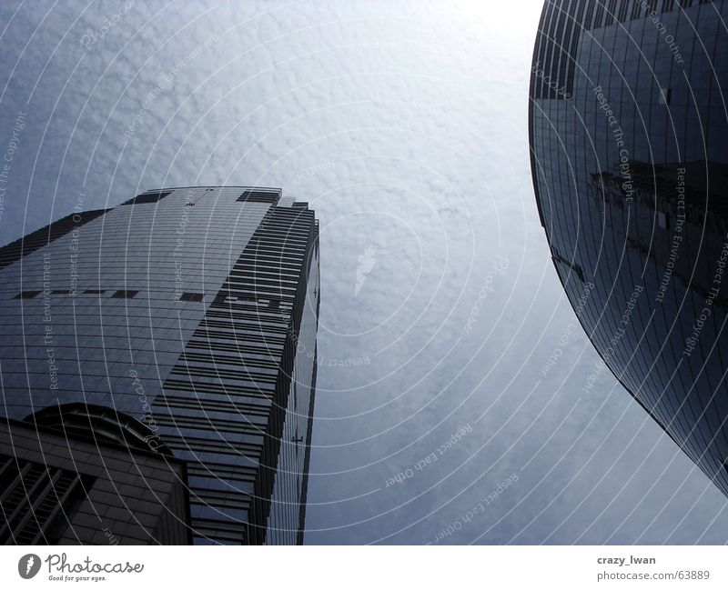 the sky's the limit Hochhaus Hongkong