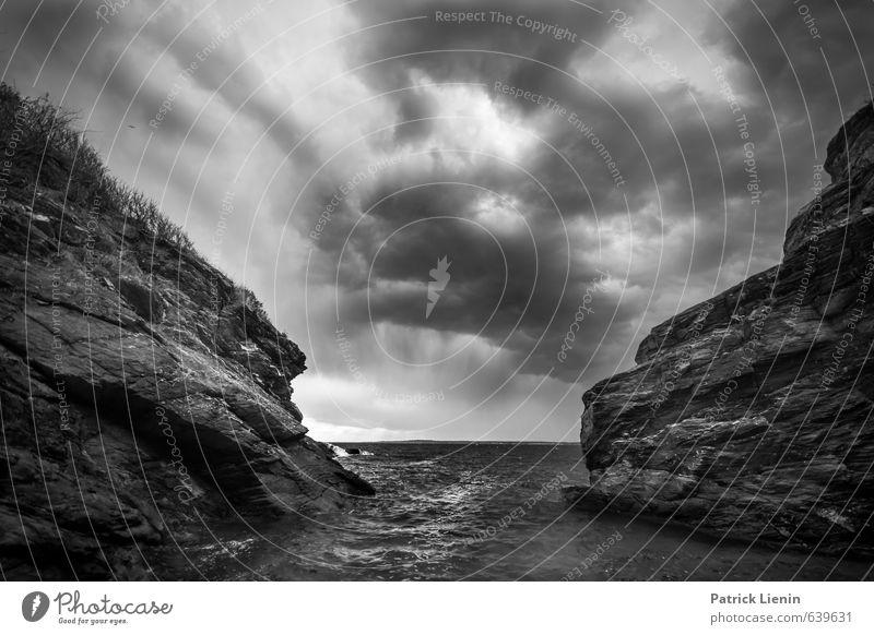 Twilight Of The Gods Umwelt Natur Landschaft Urelemente Wasser Himmel Wolken Gewitterwolken Klima Wetter schlechtes Wetter Unwetter Wind Sturm Regen Küste Bucht