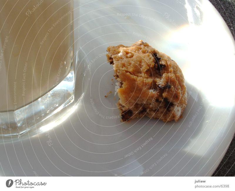 Dolce Vita Latte Macchiato Keks Italien Ernährung Kaffee Glas Cookie