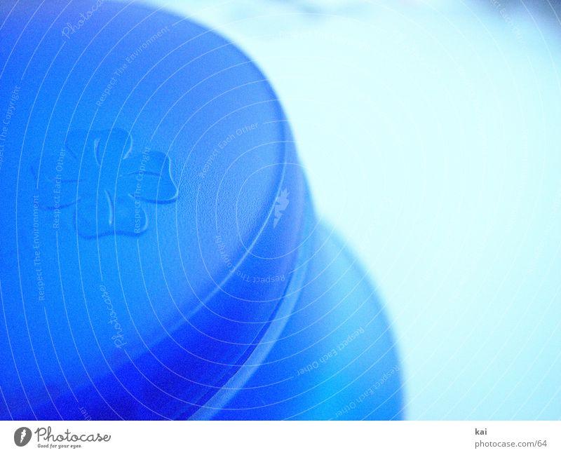 NochNeKanne blau Dinge rund Kaffee Kunststoff Bildausschnitt Kleeblatt Kannen Lebensmittel Geschirr Kaffeekanne