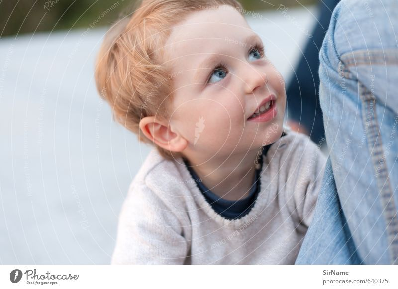 258 [selbstvergessen] Mensch Kind schön Leben Junge Spielen natürlich Gesundheit Familie & Verwandtschaft Kindheit authentisch frisch Fröhlichkeit Lächeln beobachten einfach