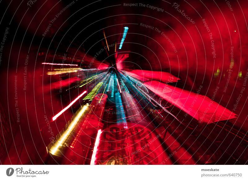 Party Lichtdynamik Nachtleben Entertainment Veranstaltung Club Disco Diskjockey clubbing Geschwindigkeit Lichtdesign Lichtstrahl Raumerlebnis Zeitreise Farbfoto