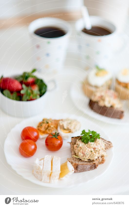 Frühstück Gesundheit Essen Feste & Feiern Lebensmittel Frucht ästhetisch genießen Ernährung Getränk Kaffee lecker Bioprodukte Brot Ei Diät