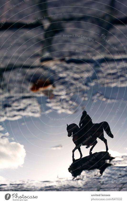 #AK Reiter aus Dresden Himmel (Jenseits) Kunst Wetter ästhetisch Perspektive Zukunft Kultur Bodenbelag Macht Spaziergang Vergangenheit Bildung Pferd Denkmal