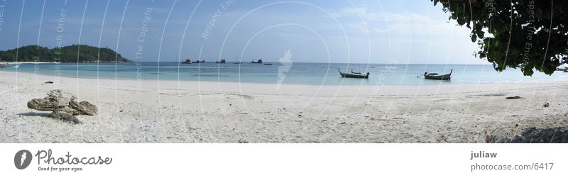 Koh Lipe Meer Strand Wasserfahrzeug groß Panorama (Bildformat) Thailand Los Angeles
