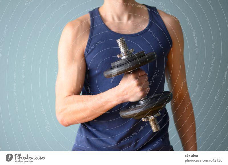 BOAH Jugendliche Mann Hand Junger Mann Erwachsene Sport Gesundheit Gesundheitswesen maskulin Kraft Arme Erfolg Fitness sportlich stark Sport-Training