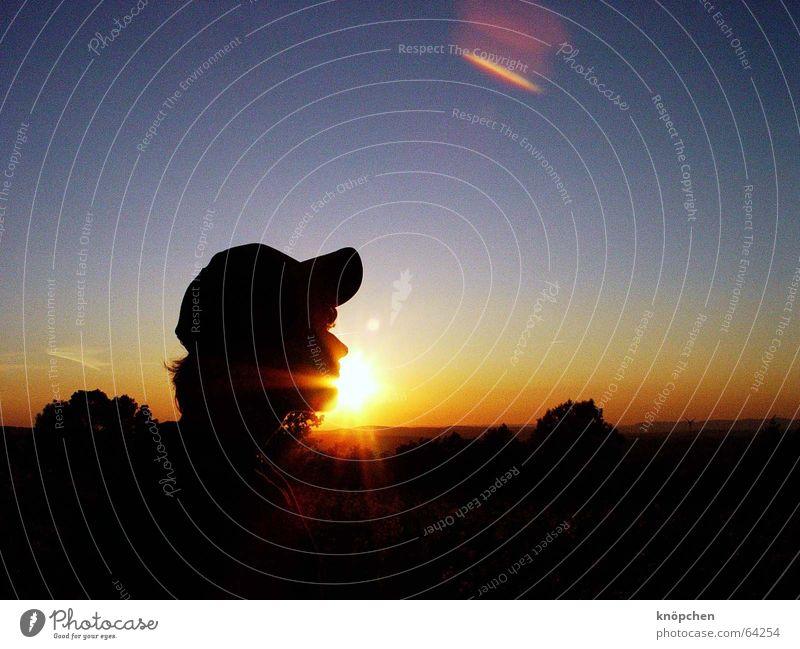 der augenblick zählt wohin Sonne Natur Einsamkeit Momentaufnahme