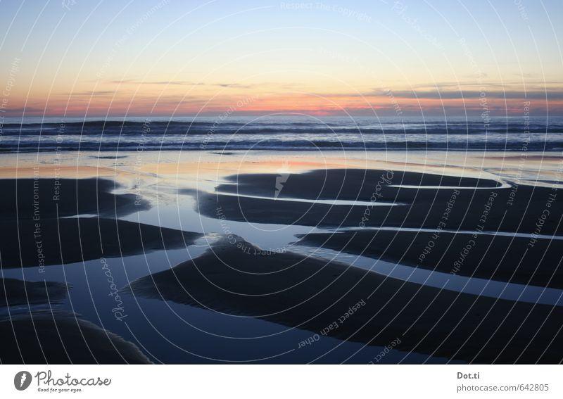 Atlantique Ferien & Urlaub & Reisen Ferne Sommerurlaub Strand Meer Natur Landschaft Wasser Himmel Horizont Sonnenaufgang Sonnenuntergang Wellen Küste