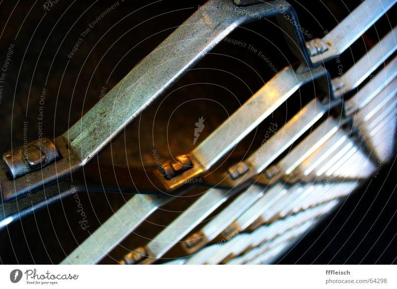Eingesperrt Metall geschlossen gefangen Gitter