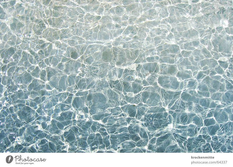 wässriges licht Wasser Bewegung Wellen nass Schwimmbad Brunnen Lichtspiel Wasseroberfläche Lausanne