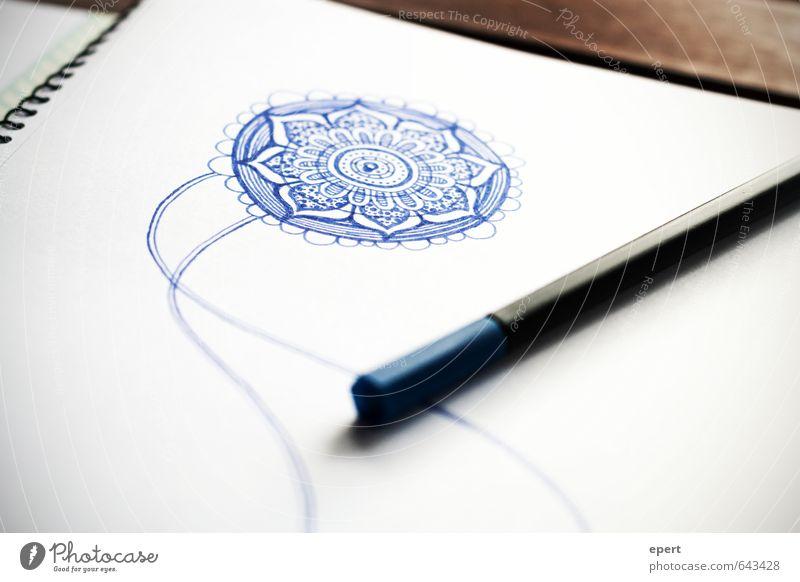 Doodling Freizeit & Hobby zeichnen Entwurf Kunst Papier Schreibstift Zeichnung Zeichenblock ästhetisch Freude Idee Inspiration Kreativität Farbfoto