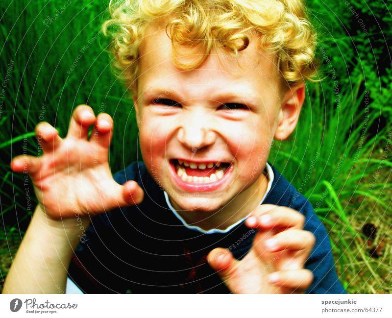 Justus macht Krawall (2) Kind Natur Freude Spielen Gras Wut schreien Kleinkind böse Spielplatz laut toben erschrecken