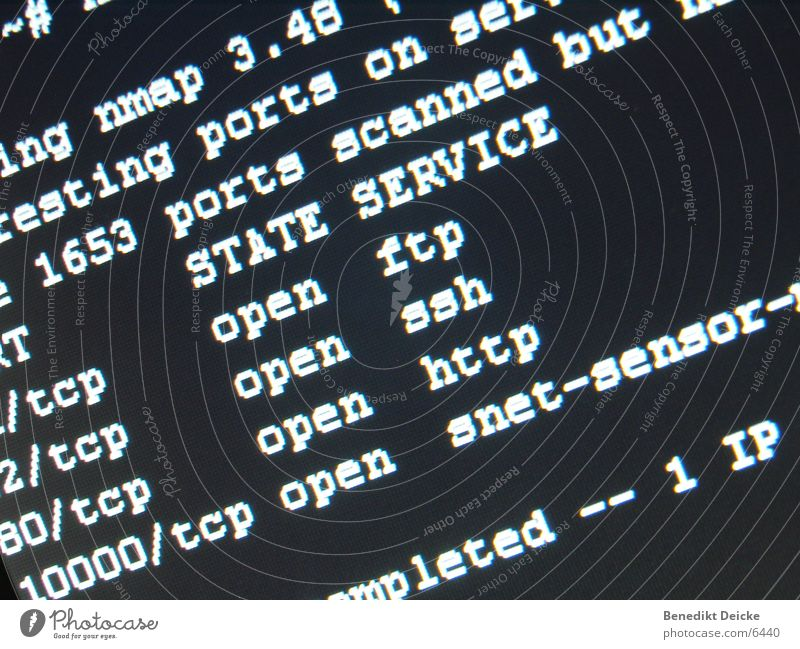 nmap Portwein Server Internet Hacker TFT-Bildschirm Dünnschichttransistor Elektrisches Gerät Technik & Technologie intranet Netzwerk ftp ssh http tcp udp Scan