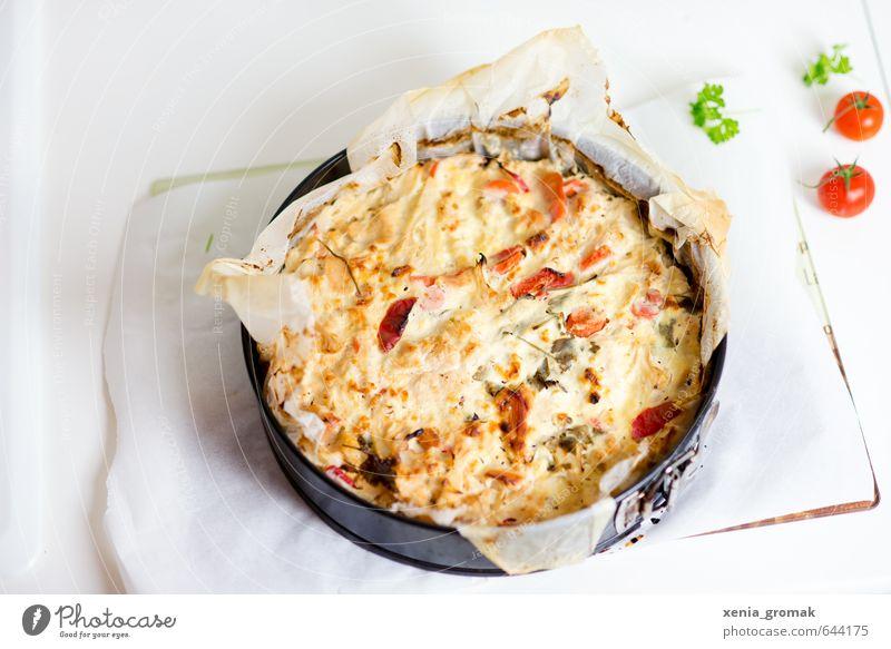 Quiche Tomaten Kräuter Wärme Essen Lebensmittel ästhetisch genießen Ernährung Kochen & Garen & Backen Lebensfreude Kräuter & Gewürze Frühstück Kuchen Duft