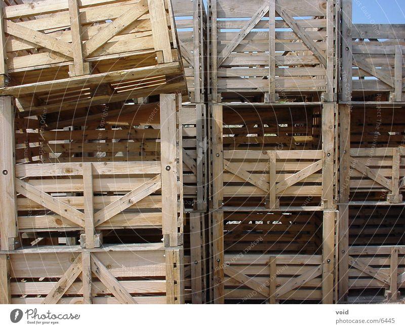 Rappelkiste Holz Dinge Kiste