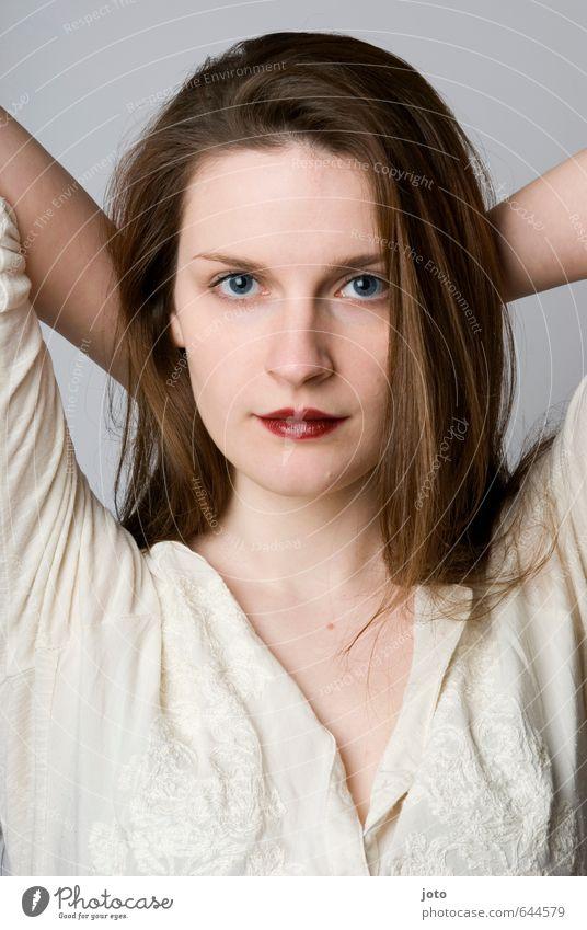 Laetitia Jugendliche schön Junge Frau Erotik Auge feminin Haare & Frisuren Gesundheit Zufriedenheit Warmherzigkeit rein Wohlgefühl brünett harmonisch langhaarig