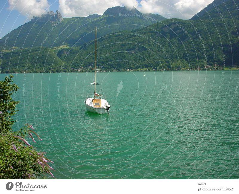 Segelboot See Wasserfahrzeug Frankreich Segeln Annecy