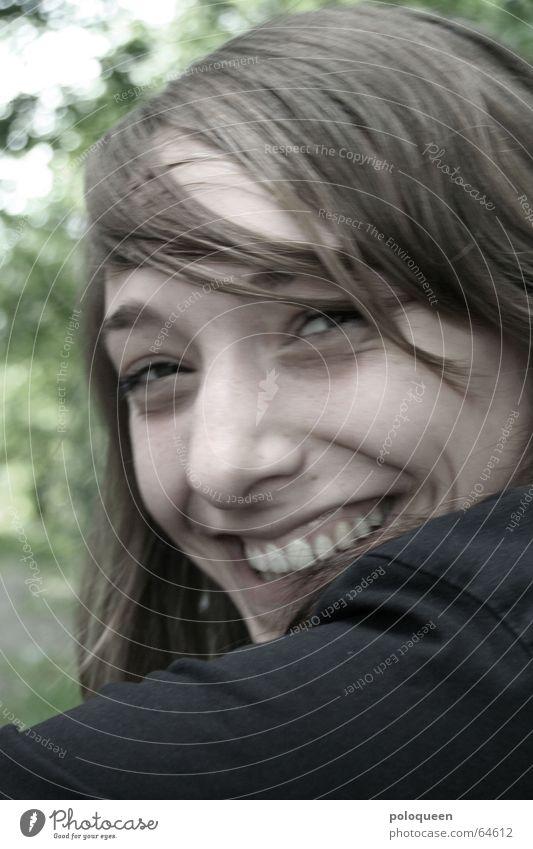 serenity Fröhlichkeit heiter Sommer Frau Freude Porträt lachen Mund Gesicht Haare & Frisuren Auge Nase Kopf Zähne