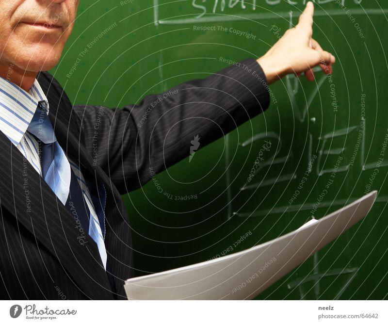 Fingerzeig Mann Arbeit & Erwerbstätigkeit Management Stil Business Ziel Konzentration Anzug Geschäftsleute Leiter Rede Krawatte Zweck Führer Arbeitsbekleidung