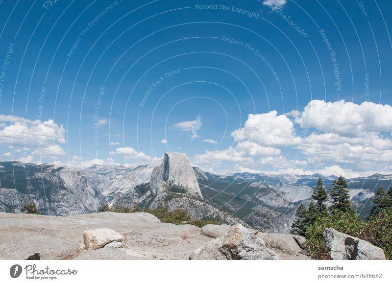 Yosemite National Park Ferien & Urlaub & Reisen Tourismus Ausflug Abenteuer Ferne Freiheit Sommer Sommerurlaub Sonne Berge u. Gebirge wandern Umwelt Natur