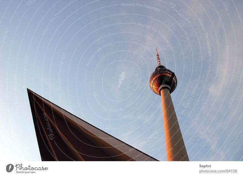 Telespargel Berlin Berliner Fernsehturm Hauptstadt Alexanderplatz