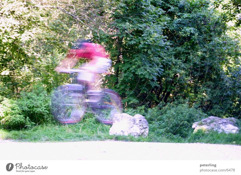 ghostjump springen Mountainbike Sport Fahrrad