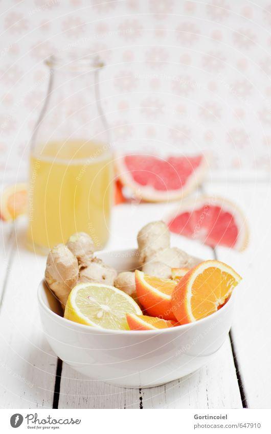 Zitrusingwer Lebensmittel Frucht Orange Ernährung Bioprodukte Vegetarische Ernährung Slowfood Getränk Heißgetränk Saft Tee Schalen & Schüsseln Flasche frisch