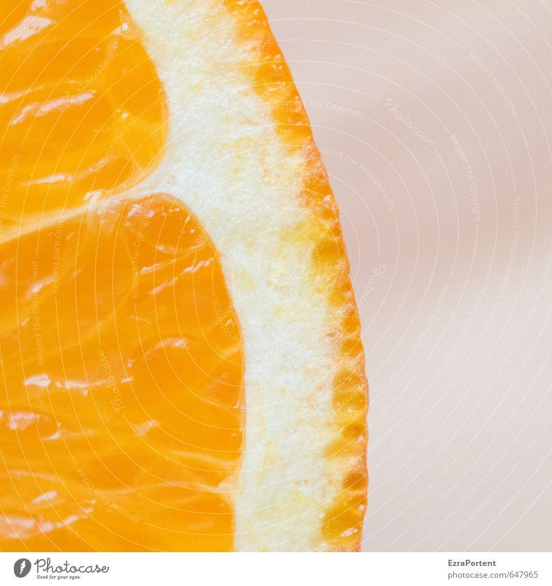 ein wenig Orange weiß Gesundheit natürlich Lebensmittel orange Frucht leuchten Ernährung lecker Frühstück Diät saftig Geschmackssinn Vegetarische Ernährung