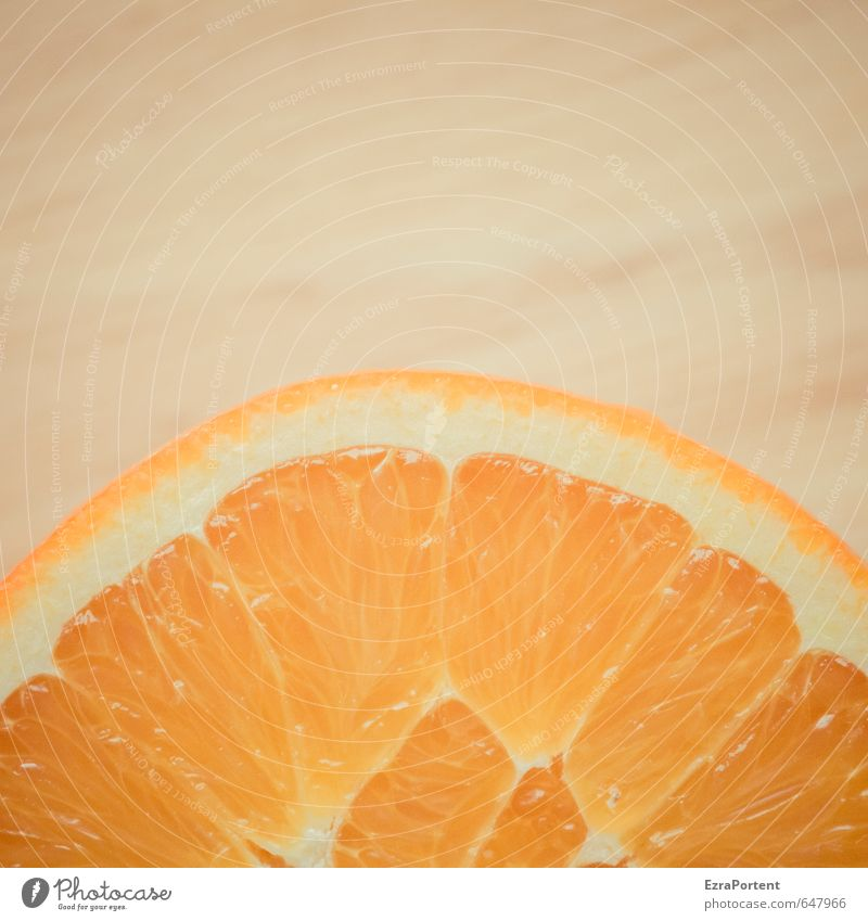 ein wenig mehr Orange weiß Sommer Gesundheit natürlich Lebensmittel orange glänzend Frucht frisch ästhetisch Ernährung lecker Bioprodukte Frühstück Diät saftig
