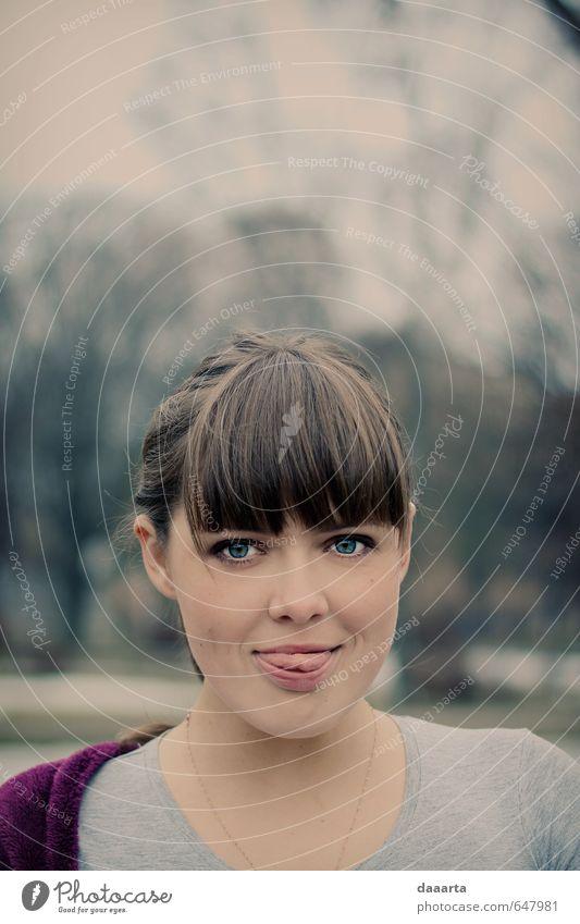 Mensch Jugendliche schön Junge Frau Freude 18-30 Jahre Erwachsene Leben feminin Stil Gesundheit glänzend elegant Lifestyle frisch Lächeln