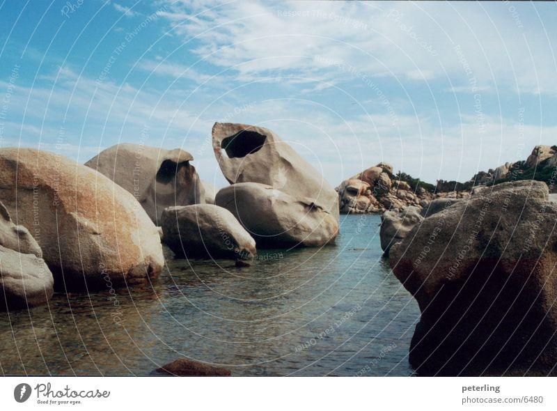 steinstrand Wasser Meer Strand Stein