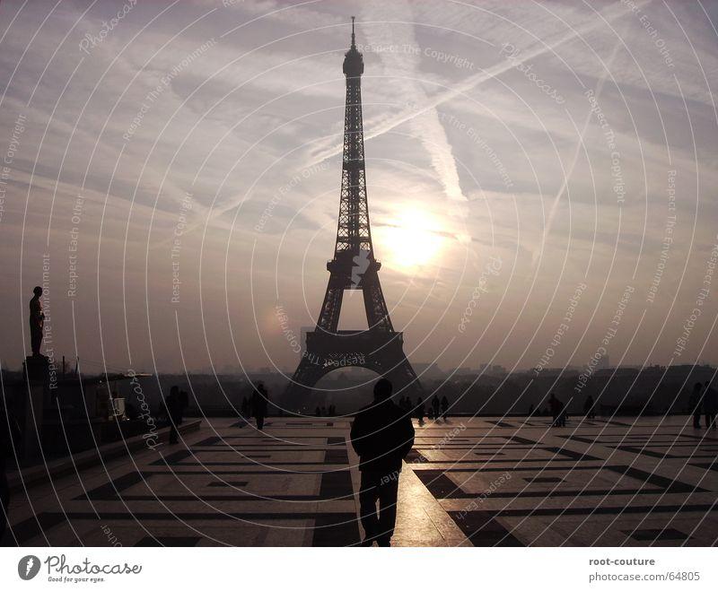 Mach es nie ohne einen Pariser Himmel Ferien & Urlaub & Reisen schön Sonne ruhig Architektur Frühling Stimmung Nebel Zufriedenheit Energie frei groß Europa