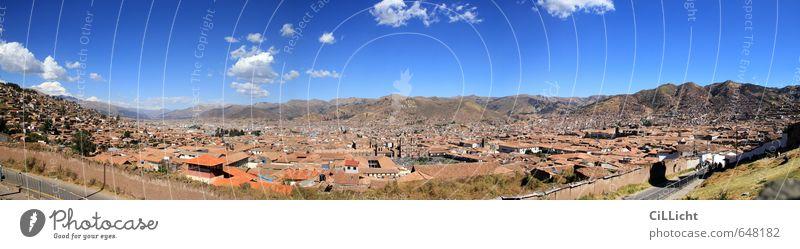 Der Nabel der Welt Ferien & Urlaub & Reisen Tourismus Städtereise Sommer Architektur Landschaft Schönes Wetter Dürre Berge u. Gebirge Anden Gipfel