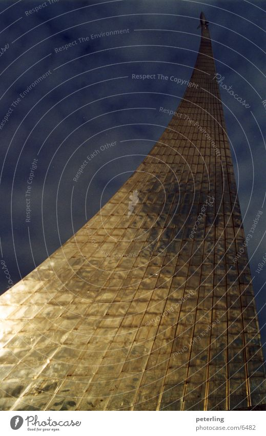 Sputnik Architektur Denkmal Satellit Moskau Russland Sputnik