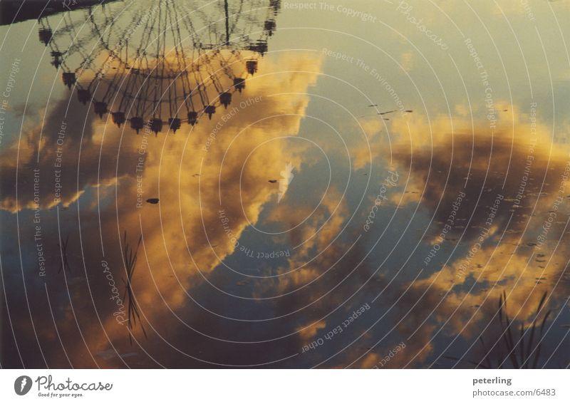 2Dimensionen Reflexion & Spiegelung Sonnenuntergang Fototechnik