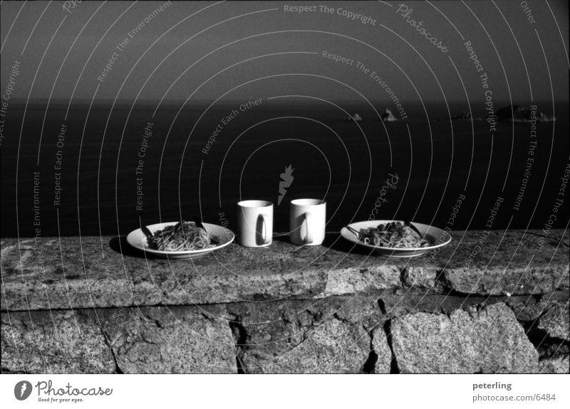 Mangiare Meer Ferien & Urlaub & Reisen Ernährung Europa Italien Nudeln