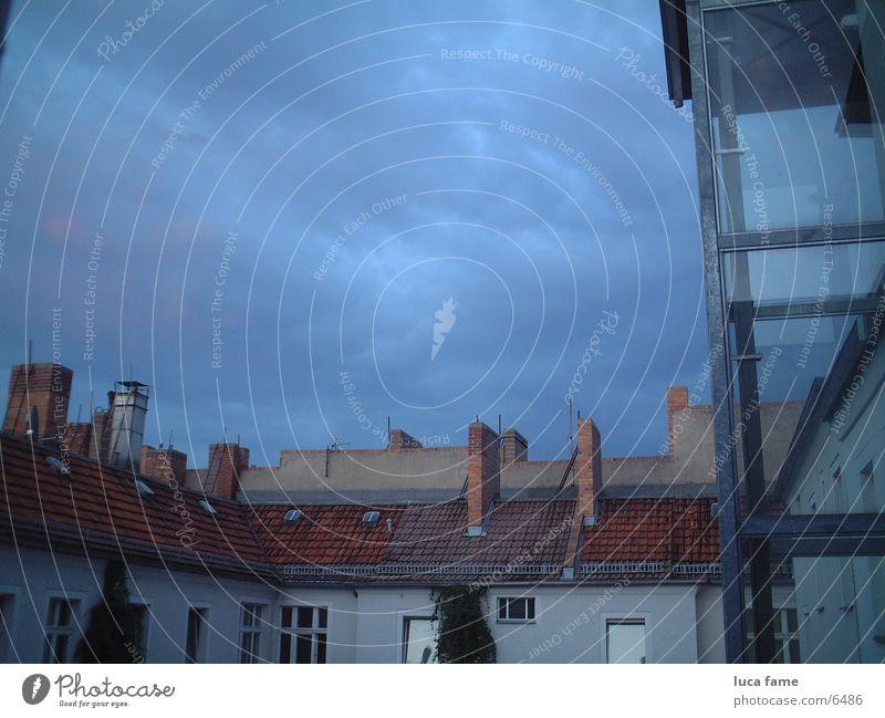 über den dächern berlins Himmel Berlin Landschaft Dach