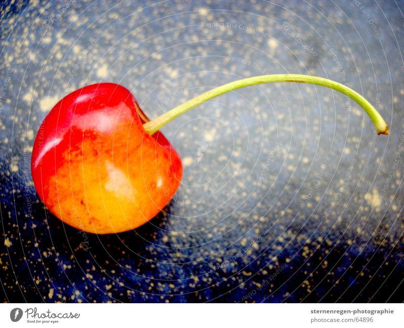 cherry rot gelb Frucht frisch Kirsche