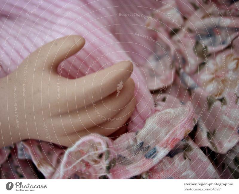 hand Kind Hand Spielen Tod rosa Finger Spielzeug Geschirr Puppe Sammlung Rüschen Porzellanpuppe