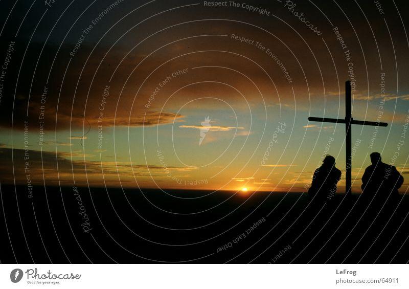 Buenos Dias Gipfel Sonnenuntergang Sonnenaufgang Argentinien Religion & Glaube Berge u. Gebirge