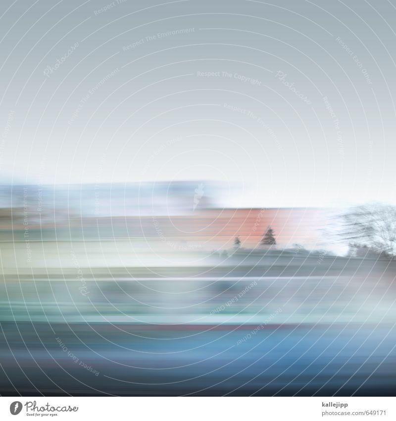 trip to berlin Himmel Baum Landschaft Straße Verkehr Geschwindigkeit ästhetisch Politische Bewegungen Güterverkehr & Logistik Verkehrswege Autobahn Dynamik