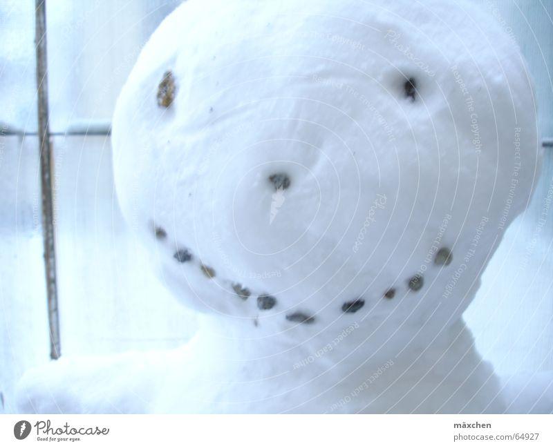 smile Winter Gesicht lachen grinsen Schneemann
