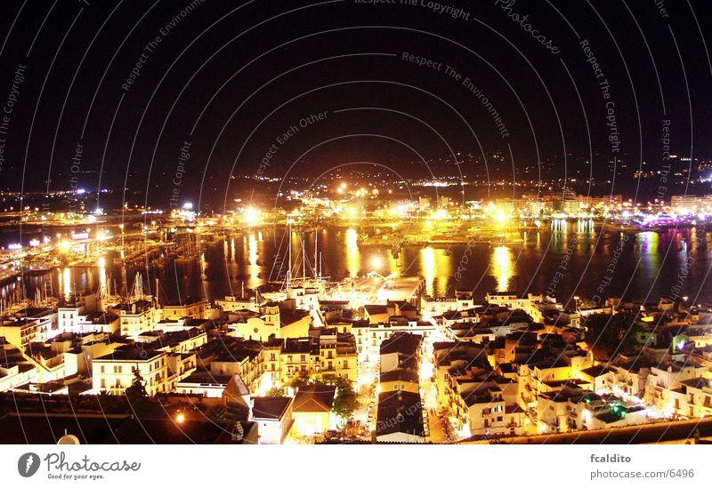 Port Ibiza night Nacht Nachtleben Portwein Europa Tor