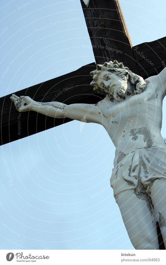 ans kreuz genagelt Religion & Glaube Rücken Bild Leidenschaft Abendessen Kruzifix Jesus Christus Gott Nagel Christentum Friedhof Götter Grab Israel Beerdigung