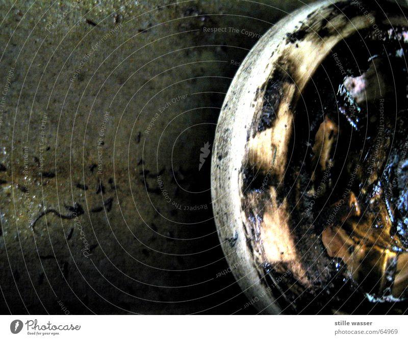 GARAGENTORLAUFSCHIENENMECHANIK Gleise Mechanik Garage Lager Fett Erdöl laufschiene Makroaufnahme