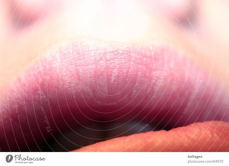 lipps Lippen oben sprechen Furche Mund halb auf rosam nase was will sie nur sagen Teile u. Stücke Zähne Neigung Anschnitt